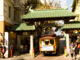 Entrance to Chinatown  San Francisco  California  USA