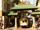 Entrance to Chinatown  San Francisco  California  USA