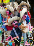 Mexican Puppets  Olvera Street Market  El Pueblo de Los Angeles  Los Angeles  California  USA