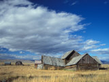 Old Ranch Outside Yellowstone National Park  Idaho  USA