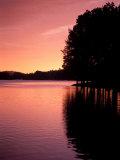 Sunrise on Lake  Arkansas  USA