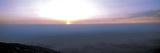 Bright Sunset with Dark Ocean Water