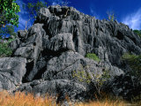 Limestone Bluff at Archways  Near Mungana Chillagoe  Queensland  Australia