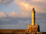 Lighthouse Built in 16th Century  Hania  Greece