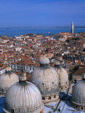 Rooftops Views from the Campanile  Venice  Veneto  Italy
