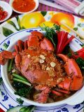 Cua Qua Hap Voi Bia Va Rua Vi (Steamed Crab in Beer and Herbs)  Vietnam