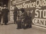Blind Beggar  Lawton  Oklahoma  c1917