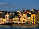 Buildings along Waterfront  Hania  Greece