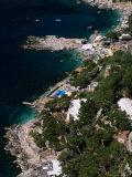 Birds-Eye View of Piccola Marina  Capri  Italy