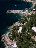 Birds-Eye View of Piccola Marina  Capri  Italy