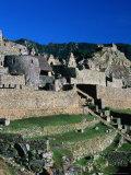 Inca City of Machu Picchu  Machu Picchu  Cuzco  Peru