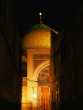 Mosque at Night  Damascus  Syria