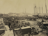 Captured Confederate Guns at Richmond  c1865