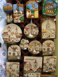 Souvenir Ceramics Depicting Views of Szentendre  Szentendre  Hungary