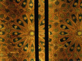 Ceiling Detail in Chapel of the Alcazar  Segovia  Castilla-Y Leon  Spain