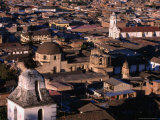 City Buildings and Belltower of Santa Apolina  Cajamarca  Cajamarca  Peru