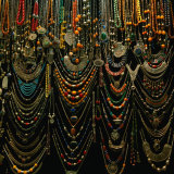 Jewellery for Sale at Istanbul Bazaar  Istanbul  Turkey