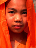 Portrait of a Young Monk  Xishuangbanna  China