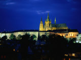 Historic Prague Castle or Hradcany Castle  Prague  Central Bohemia  Czech Republic