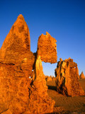 Eroded Pinnacles Near Cervantes  Nambung National Park  Australia