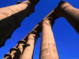 Colonnade of Amenhotep III at Luxor Temple  Luxor  Egypt