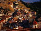 Rooftops of Santu Lussurgiu  Italy