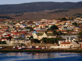 Town from Harbour  Punta Arenas  Chile