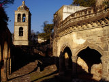 Rosary Chapel of the 16th Century Church of San Francisco in Tlaxcala  Mexico