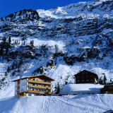 Hotels in the Upmarket Resort Town of Lech in Western Arlberg  Vorarlberg  Austria