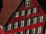 Historic Building Facade  Tubingen  Baden-Wurttemberg  Germany