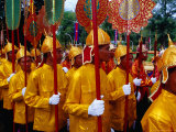 Palace Guards at Chat Preah Nengkal (Royal Ploughing Ceremony)  Phnom Penh  Cambodia