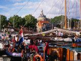 Holiday Boats in Marina  Enkhuizen  Netherlands