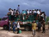 Truck Full of Passengers  Sumba  East Nusa Tenggara  Indonesia