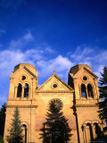 St Francis Cathedral (1896)  Santa Fe  New Mexico  USA