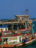 Fishing Boat Hua Hin  Prachuap Khiri Khan  Thailand