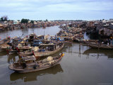Fishing Fleet on South Central Coast Phan Thiet  Binh Thuan  Vietnam