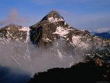 Summit of Mt Anne  Tasmania  Australia
