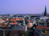 Downtown Cityscape  Copenhagen  Denmark