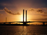 Bolte Bridge at Sunset  Melbourne  Australia