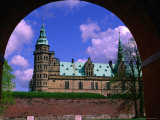 Kronborg Castle Built in the 16th Century  Helsingor  Frederiksborg  Denmark