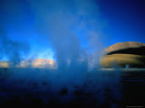 Steam Rising from One of the El Tatio Geysers  El Tatio Geysers  Chile
