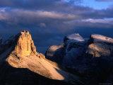 Punte Dei Scarperi on the Fiscaline Loop Walk  Dolomiti Di Sesto Natural Park  Italy