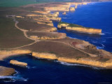 Aerial View of Lock Ard Gorge and the Twelve Apostles  Port Campbell National Park  Australia