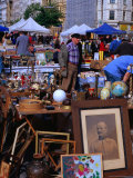 Flea Market at Naschmarkt  Wieden  Vienna  Austria