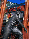 Willie Mayes Statue at Pacific Bell Park  San Francisco  California  USA