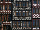 Facades of Houses at Romerberg  Frankfurt-Am-Main  Germany