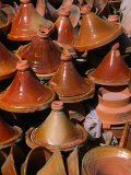 Traditional Tajine Pottery at Market  Essaouira  Essaouira  Morocco