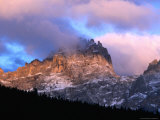 Dawn Light on Peaks Above Sesto Valley  Dolomiti Di Sesto Natural Park  Trentino-Alto-Adige  Italy