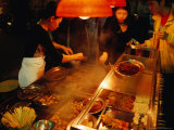 Street Food Stall  Central Macau  Macau  China