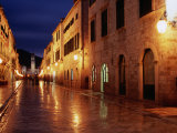 Placa at Twilight  Dubrovnik  Croatia
